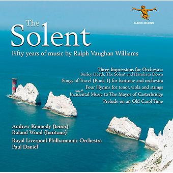 R. Vaughan Williams - Solent: fünfzig Jahre der Musik von Ralph Vaughan Williams [CD] USA Import