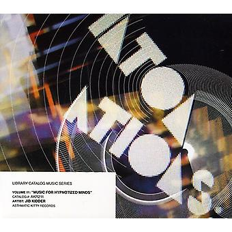 Jib Kidder - Library Catalog Music Series: Music for Hypnotized [CD] USA import