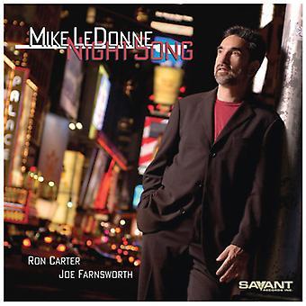 Mike Ledonne - importation USA Night Song [CD]