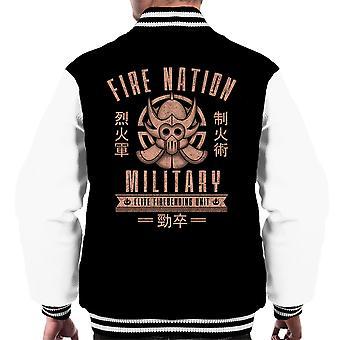 Fire Is Fierce The Legend Of Korra Men's Varsity Jacket