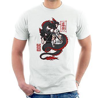 Arashikage Clan Storm Shadow Snake Eyes GI Dragon Joe Men's T-Shirt