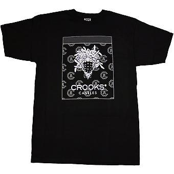 Crooks & Castles Bandito Dime T-shirt Black