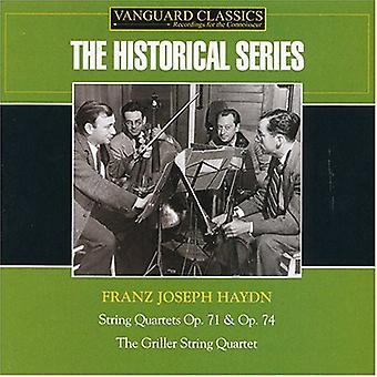 J. Haydn - Haydn: String Quartets Op. 71 & Op. 74 [CD] USA import