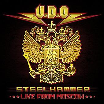 U.D.O. - Steelhammer Live From Moskova [CD] USA tuonti