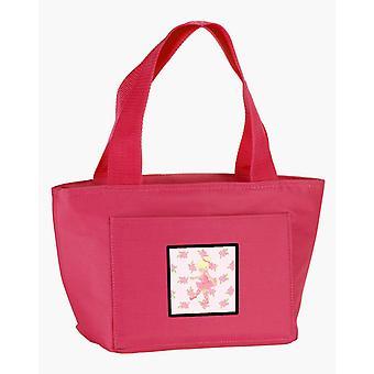 Carolines skatter BB5171PK-8808 Ballerina Blonde punkt Lunch Bag
