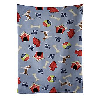 Grand Basset Griffon Vendeen Dog House kolekcja Ręcznik kuchenny
