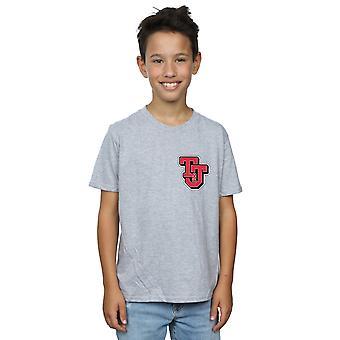 Tom And Jerry Boys Collegiate Logo T-Shirt