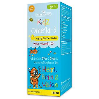 Natures Aid Kidz Omega-3 (with Vitamin D3) 150ml