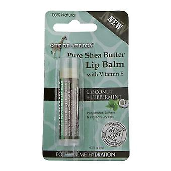 Out of Africa Shea Butter Lip Balm Coconut Peppermint