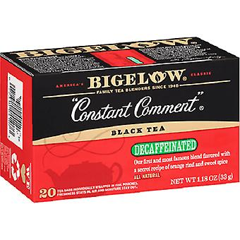 Bigelow Constant Comment Decaffeinated Black Tea