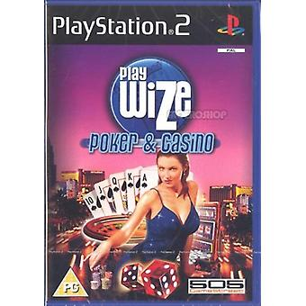 Playwize Poker Casino (PS2) - New Factory Sealed