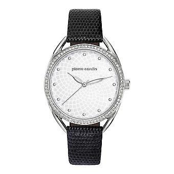 Pierre Cardin ladies watch wristwatch Drouot femme leather PC901872F01