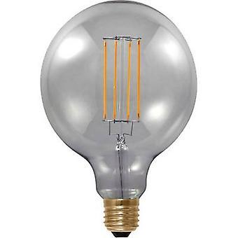 Segula LED (monochrome) EEC A (A++ - E) E27 Globe 6 W = 25 W Grey (Ø x L) 125 mm x 180 mm dimmable, Filament 1 pc(s)