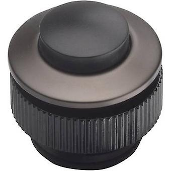 Grothe 62013 Bell button 1x Anthracite, Black 24 V/1,5 A