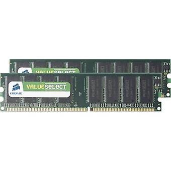 Zestaw PC RAM Corsair ValueSelect VS2GBKIT400C3 2 GB 2 x 1 GB DDR RAM 400 MHz CL3 3-3-8