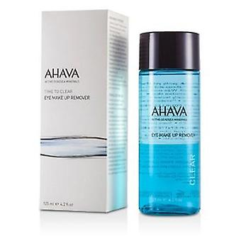 Ahava Time To Clear Eye Make Up Remover - 125ml/4.2oz