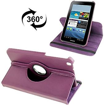 Cover tray ash (flip cross) for Samsung Galaxy tab 3 8.0 T3110 T3100 purple / violet