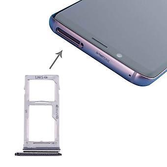 For Samsung Galaxy S9 G960 / S9 plus G965 Simcards Halter SIM tray SD card black
