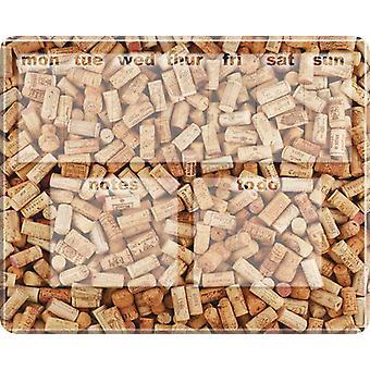 Wine Corks Dry Wipe Magnetic Diary Board Photoboard