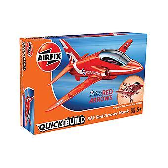 Kit modelo de setas vermelhas de construção rápida do Airfix J6018