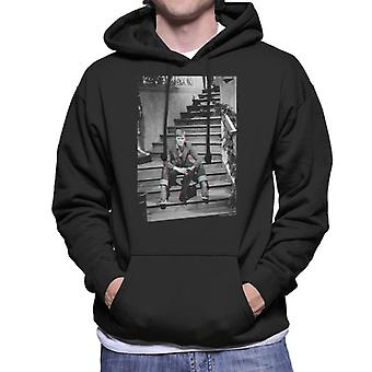 TV Times David Bowie Bing Crosby Show 1977 Men's Hooded Sweatshirt