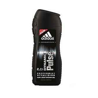 Adidas Dynamic Pulse pepermunt haar & lichaam Douche Gel voor mannen 8.4oz