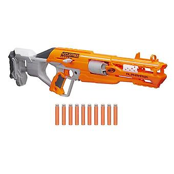 Nerf N-Strike Elite Accu Series Alpha Hawk Blaster Includes 10 darts