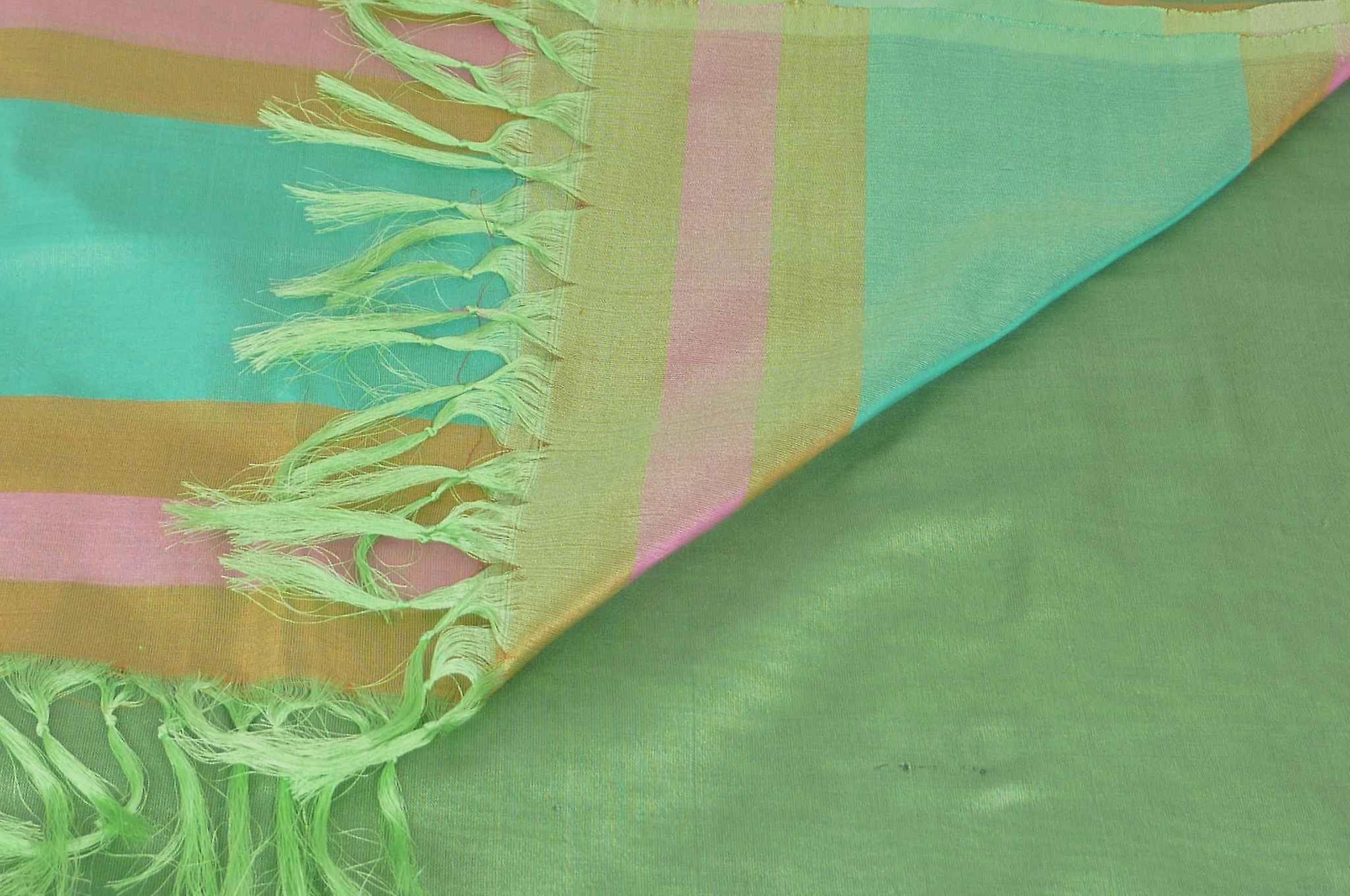 Varanasi Border Prime Silk Long Scarf Heritage Rajagopal 259 by Pashmina & Silk