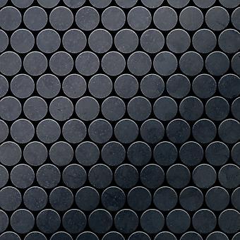 Metal mosaic Raw Steel ALLOY Dollar-RS