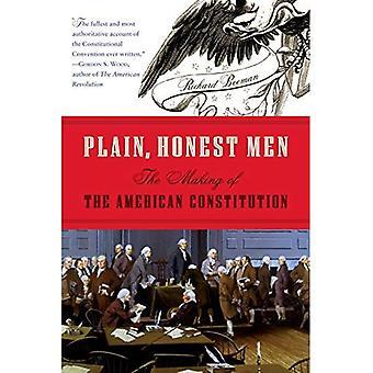 Plaine, honnêtes hommes: La fabrication de la Constitution américaine