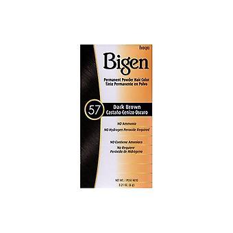 Bigen Powder Hair Color  #57 Dark Brown