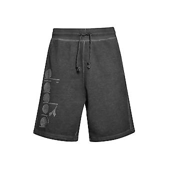 Diadora Black Jersey Shorts