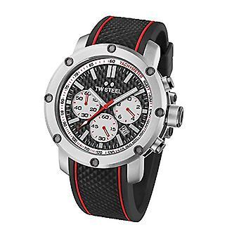 Montre analogique TW Steel Watch avec bracelet caoutchouc TS2