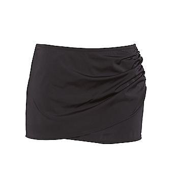 Elomi Essentials Es7619 Wrap Skirted Bikini Brief Black (blk) Cs