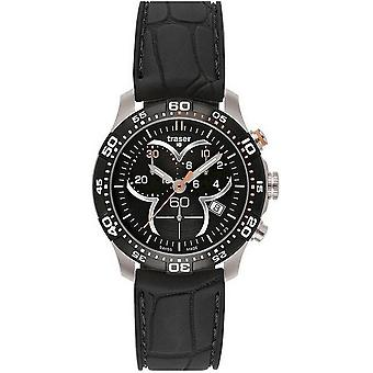 Traser H3 Ladytime Черный Хронограф Мужские часы T7392. 8Ач. G1A. 01 100314