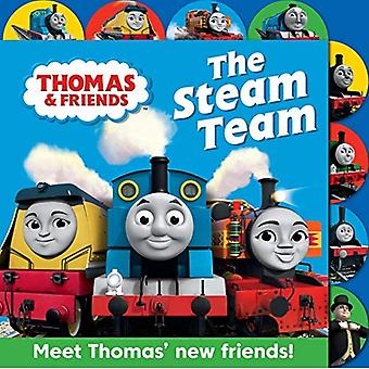 Thomas & Friends: The Steam Team: Tabbed board book [Board book]