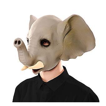 Elephant mask elephant mask mask LaTeX rubber mask adult