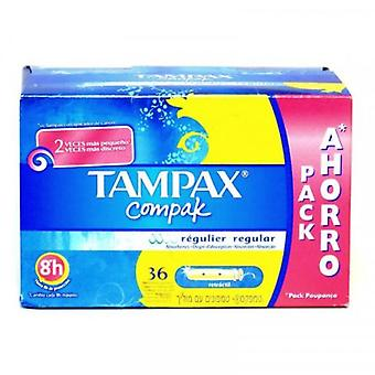 Tampax Compak Regular Buffer 36Units