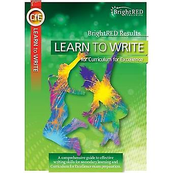 Brightred Learn to Learn - Writing Skills for CfE by Christopher Nicol