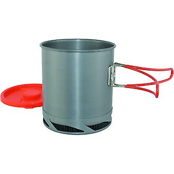 Yellowstone 1L Fast Boil Backpacker Pot Graphite