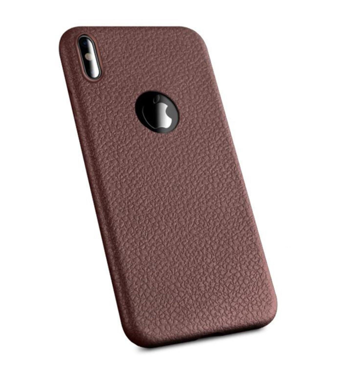 Soft Leather Lookalike case - iPhone X / XS