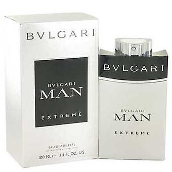 Bvlgari Man Extreme By Bvlgari Eau De Toilette Spray 3.4 Oz (men) V728-501033