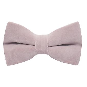 Luxe lavendel Roze fluwelen vlinderdas, paars