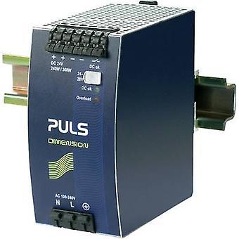 PULS DIMENSION QS10.241 Rail mounted PSU (DIN) 24 V DC 10 A 240 W 1 x