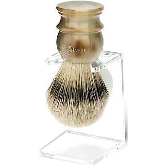 Blaireau Corno e la sua posizione - Capelli d'argento puri