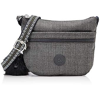 Kipling Black Woman shoulder bag (JEANS GREY G STRAP 37I)) 25x21x3 cm (B x H x T)