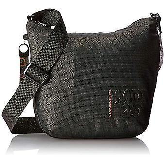 Mandarin Duck P10QNTV1 Black Women's shoulder bag (BLACK (NOIR 23G)) 10x26x29 cm (B x H x T)