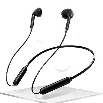 For Doogee X6 - Black Wireless Bluetooth Headphones with Microphone by i-Tronixs