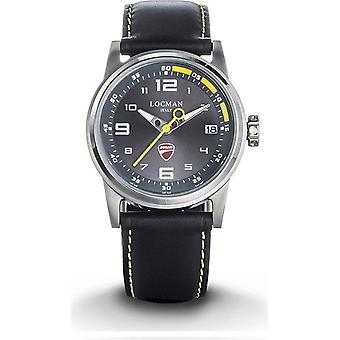 LOCMAN - wrist watch - men - D106A07S-00GYYPKY - DUCATI THREE HANDS QUARTZ