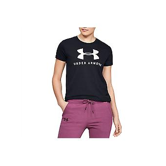 Under Armour Graphic Sportstyle Classic Crew 1346844-002 Womens T-shirt